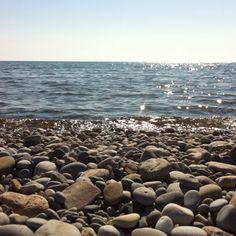 Lake Ontario from The Beaches, Toronto. Toronto Canada, Ontario, Serenity, Beaches, Real Estate, Live, Water, Summer, Outdoor