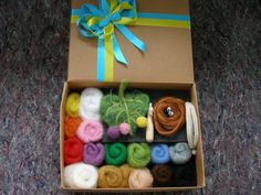 Needle felting kit //  Needle felting kit by Hobbyshop2015 on Etsy