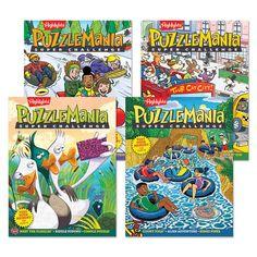 Puzzlemania Super Challenge 4 Book Set