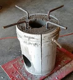 Diy rocket stove thehomesteadingboards com Discover thousands of images about Resultado de imagen para medidas rocket stove Cooking Shows On Netflix Code: 5671701245 S Cooking Games Product How Cooking Turkey Diy Rocket Stove, Rocket Mass Heater, Rocket Stoves, Stove Heater, Stove Oven, Jet Stove, Outdoor Stove, Cooking Stove, Survival Prepping