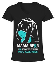 THIS Princess has Asthma Embroidered Baby T-Shirt Poison Girl Allergy Food