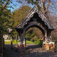 St Mary's church, Harrow-on-the-Hill, London. #lychgate #stmarys #church #Harrow #London #LondonLife #ThisIsLondon