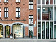 Dreipass mit Betonkolonnade - Neo-Umbau in Gent