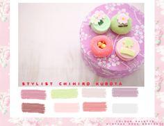 Vintage Rose Brocante Colour Palette - Stylist Chihiro Kubota