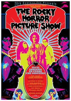 THE ROCKY HORROR Picture Show  1975  movie musical by by tarlotoys