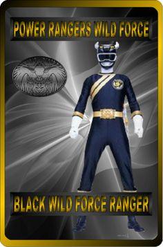 Black Wild Force Ranger by rangeranime on Power Rangers Wild Force, Power Rangers Fan Art, Power Rangers In Space, Power Ranger Black, Green Ranger, Pink Ranger Kimberly, Digimon Fusion, Transformers Armada, Power Rengers