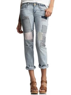 I must do a pair of my jeans like this.