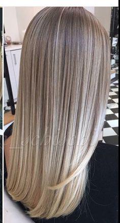 87 unique ombre hair color ideas to rock in 2018 Brown Ombre Hair, Brown Blonde Hair, Ombre Hair Color, Different Blond, Hair Melt, Honey Hair, Hair Affair, Gorgeous Hair, Balayage Hair
