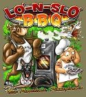 ASAP - Custom Artwork for Lo'-N-Slo' BBQ. Check out more designs or see about a quote for your own custom design at: www.asapstuff.com