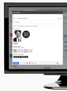 Home Email Signatures, Presentation Layout, Branding, Brand Management, Presentation Templates, Identity Branding