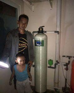 pemasangan filter air Dr.Toya di Golden Palm
