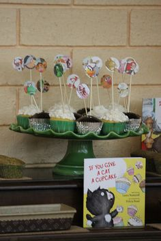 Story Book Baby Shower by Sweet Charity's, via Flickr