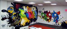 Graffitti mural