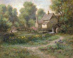 Old Watermill: Jon McNaughton