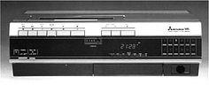 Mitsubishi HS-303E Cd Audio, Classic Video, Cassette Recorder, Tvs, Radios, Budget, Electronics, Retro, Vintage