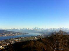 Vue sur le lac-Uetliberg-Zurich