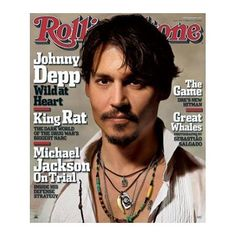 (24x36) Johnny Depp Movie (Rolling Stone Cover) Poster Print
