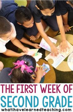 What does your first week of second grade look like? Here is what we did during our first week of school. A lot of learning routines and cooperative learning structures to set a solid foundation for the year.
