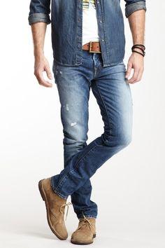 Denim. Men's style
