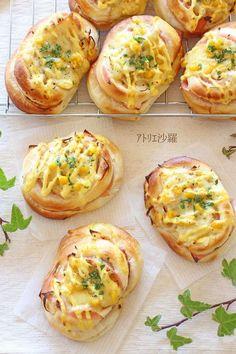 惣菜パンの王道✿ハムチーズオニオン✿ by アトリエ沙羅 [クックパッド] 簡単おいしいみんなのレシピが227万品