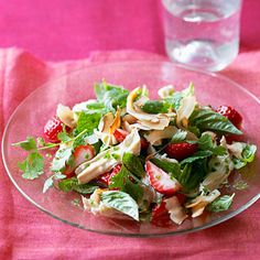 Thai Shredded Chicken and Strawberry Salad - Great Strawberry Recipes - Sunset