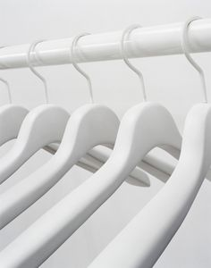 White Hangers for white clothes FROM: Bloodbuzz Ohio