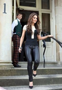 Leather Pants Outfits Ideas (53)