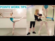 | POINTE WORK TIPS | - YouTube