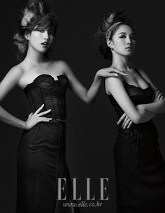 """miss A Is Featured in a Chic Pictorial For """"Elle Korea"""" Magazine - Soompi"""