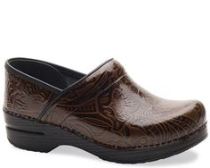 Brown Tooled Dansko