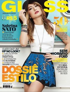 Sabrina Sato - Gloss Magazine Cover [Brazil] (April 2013)