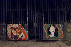 Womens Portraits 50ies Style – Streetart by BTOY (16 Pictures)