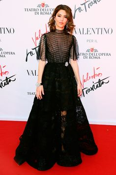 22 May The director Sofia Coppola made a statement in a voluminous, black, sheer gown for the premiere.   - HarpersBAZAAR.co.uk
