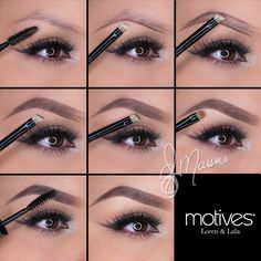 Want to give your brows a lift? Take a look at this incredible brow tutorial by professional makeup artist #ElyMarino using #MotivesCosmetics and tell us what you think! xo GET THE LOOK -->http://www.net2cosmetics.com/want-to-give-your-brows-a-lift/