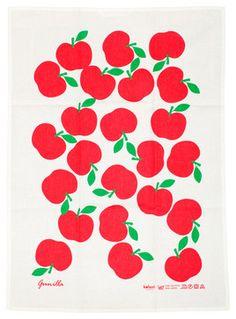Day 140 | Lotta Kuhlhorn Apples Tea Towel modern dishtowels