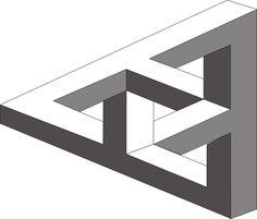 MC Escher Triangle by Psycho-Jack.deviantart.com on @deviantART