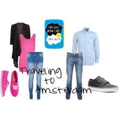 """Hazel Grace & Augustus' """"Traveling to Amsterdam"""" Outfits from """"The Fault in Our Stars"""" by John Green : : made by disneybaby913 on polyvore"""