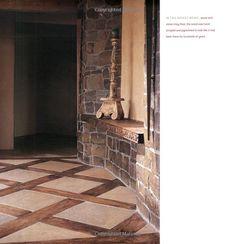 Wood Tile Flooring Ideas Floors Log Cabin