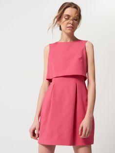 Sukienka z pudełkowym żakietem, MOHITO, RQ098-42X