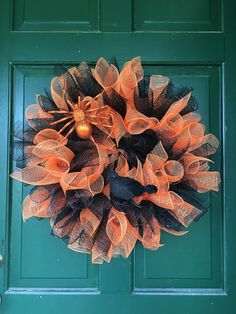 Halloween Halloween Wreath Door Wreath Halloween by FunWithWreaths