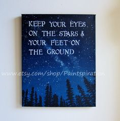 Inspirational Quotes Canvas Painting  Sayings by Paintspiration, $85.00