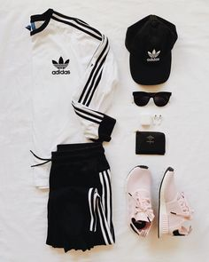 "The Pink Diary on Instagram  ""  adidasoriginals  ootd  flatlay"" 5daef2a80b7"