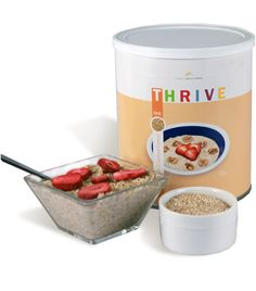 Thrive 9 grain cracked cereal pancakes