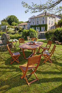 1 table Honfleur + 6 fauteuils Honfleur - Collection 2015 ...