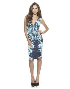 Lipsy Crystal Print Dress