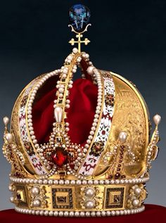 The Austrian Crown Jewels-This crown was created for the last German Kaiser, Wilhelm II in 1888. He never had a coronation so it was never worn.