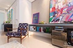 Sala de Estar - por Luni Arquitetura #arquitetura #livingroom #architecture