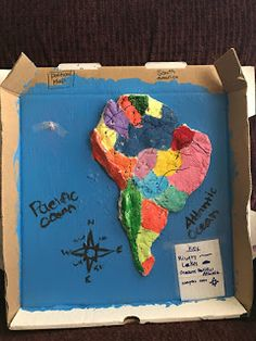 8 Best Salt dough map images | Virginia studies, Salt Dough, School ...
