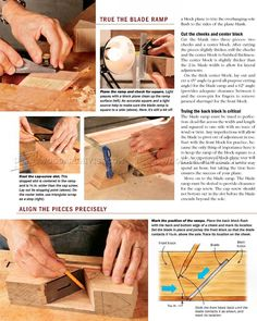 DIY Hand Plane - Woodworking Hand Tools