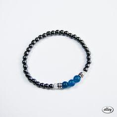 Mini z hematytów i jadeitów #elley #bransoletka #hematyt #mini #jewellery #jadeit